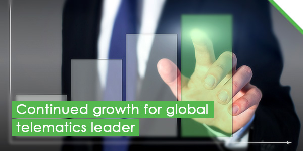 Continued growth for global telematics leader