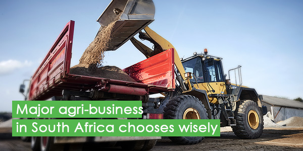 Major agribusiness in South Africa chooses wisely