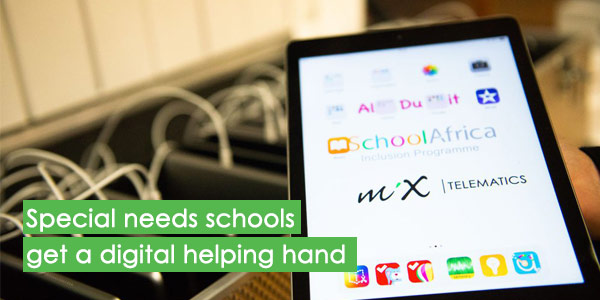 Special needs schools get a digital helping hand