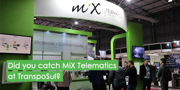 Did you catch MiX Telematics at TranspoSul?