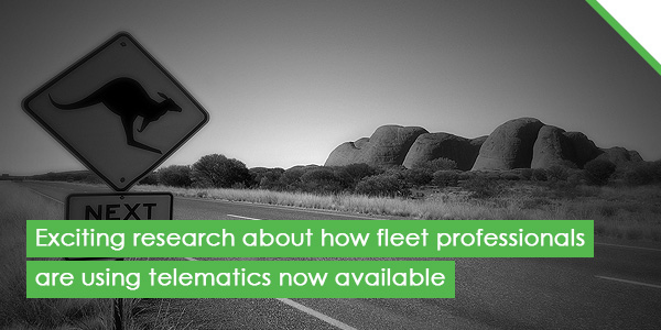 Exciting research about how fleet professionals are using telematics now available