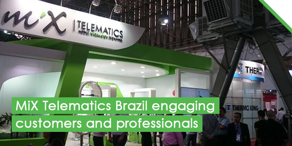 MiX Telematics Brazil engaging customers and professionals