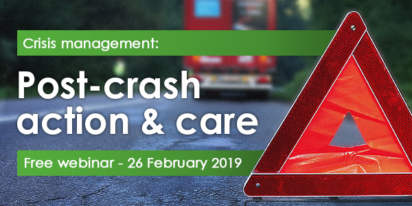 WEBINAR: Crisis management: Post-crash action and care