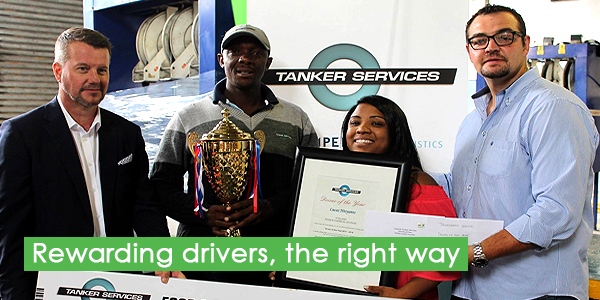 Rewarding drivers, the right way