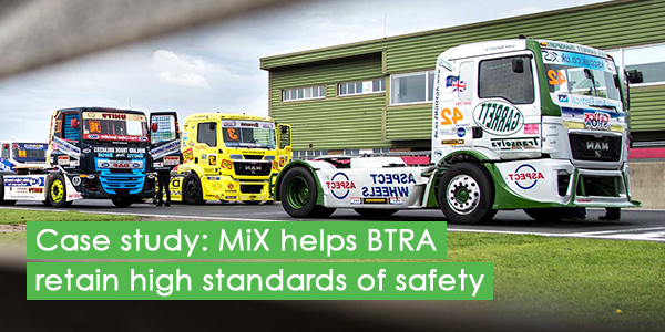 Case study: MiX helps BTRA retain high standards of safety