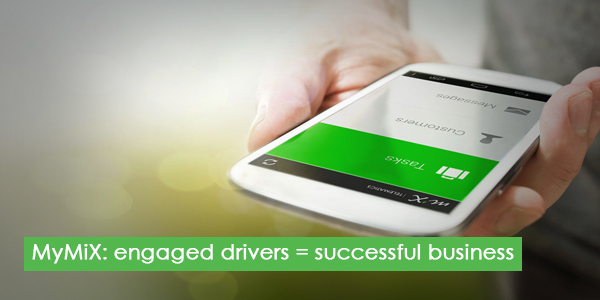 MyMiX: engaged drivers = successful business