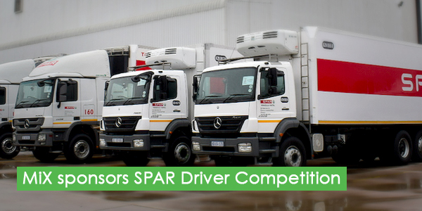 MiX Africa sponsors the SPAR National Driver Competition