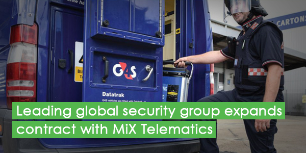 Leading global security group expands contract with MiX Telematics
